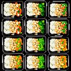 Basmatireis – Hähnchen – Gemüsepaket (6x2)