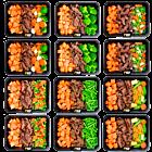 Sweet potato - Beef - Vegetables pack (6x2)