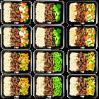 Brauner Reis - Rinderstreifen Teriyaki - vegetable pack (6x2)
