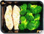 Lachs - Broccoliröschen