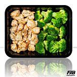 Hähnchen - Broccoliröschen (mit Gewürz)