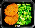 Hähnchen Burger - Broccoli (mit Gewürz)