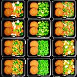 Low carb Vegetarischer burger (6x2)