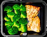 Pangasius-Filet - Broccoliröschen (mit Gewürz)