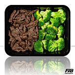 Rinderstreifen Teriyaki - Broccoli (mit Gewürz)