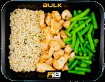 Brauner Reis - Hähnchen - Brechbohnen (mit Gewürz) [MASSE]