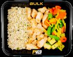 Brauner Reis - Hähnchen - Wok Mischung (mit Gewürz) [MASSE]